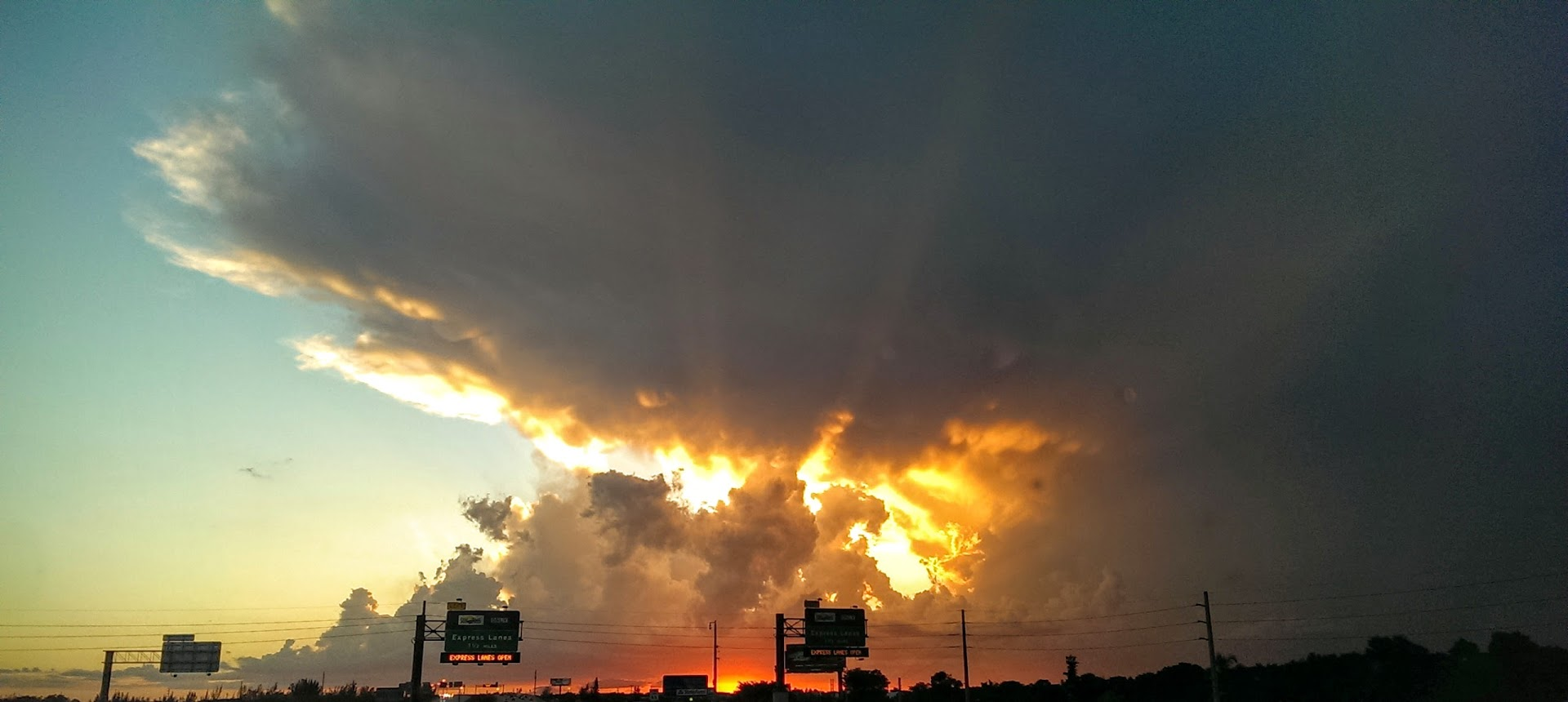 Sunsets and storms. 2 of my favorite things, and South Florida has plenty of both.