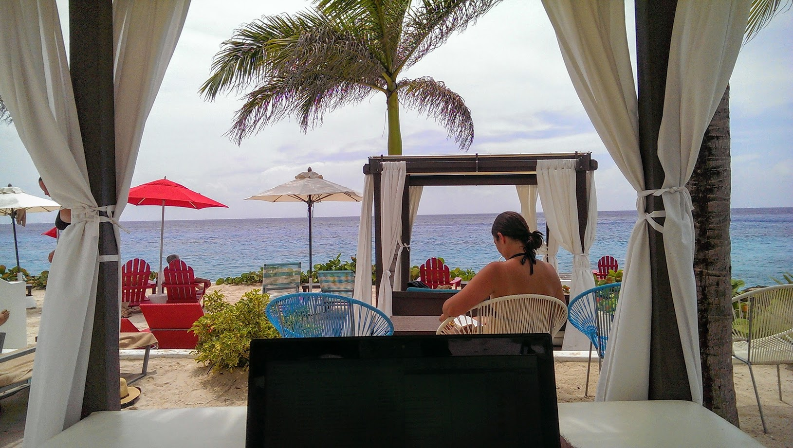 My Cozumel office